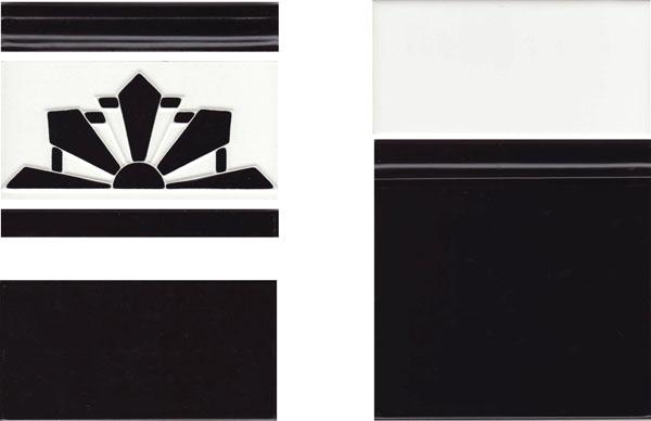 Art Deco Borders 1 Renditions Tiles