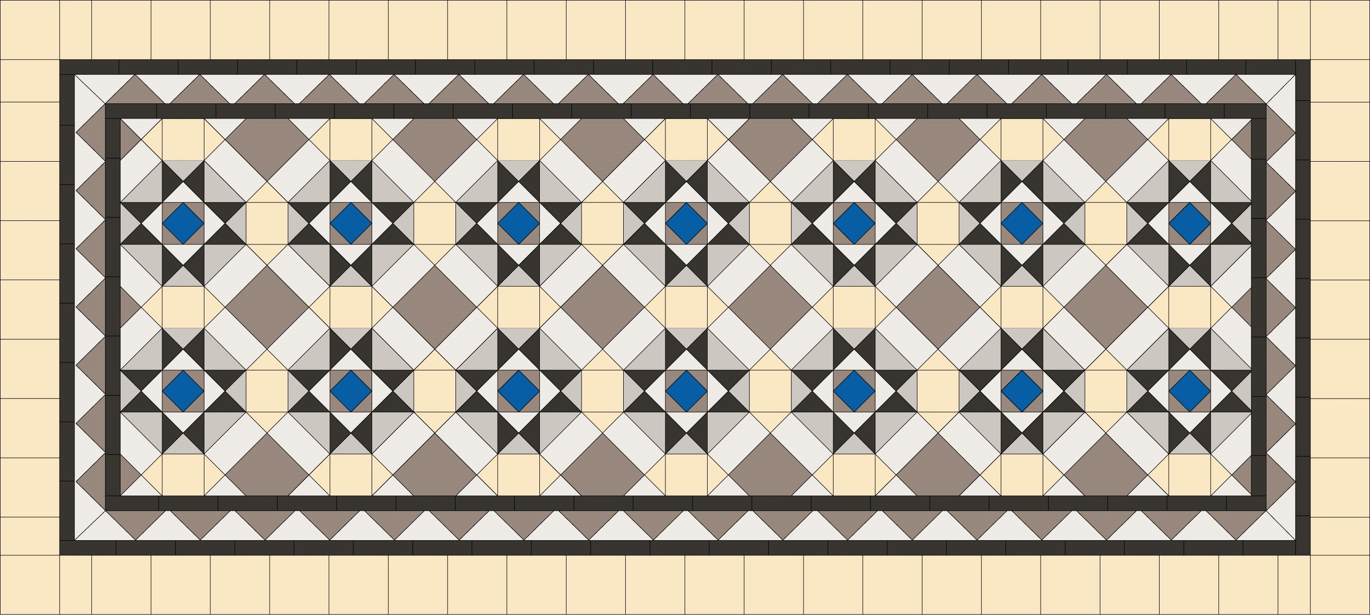 Tessellated patterns renditions tiles tessellated pattern 5 dailygadgetfo Images