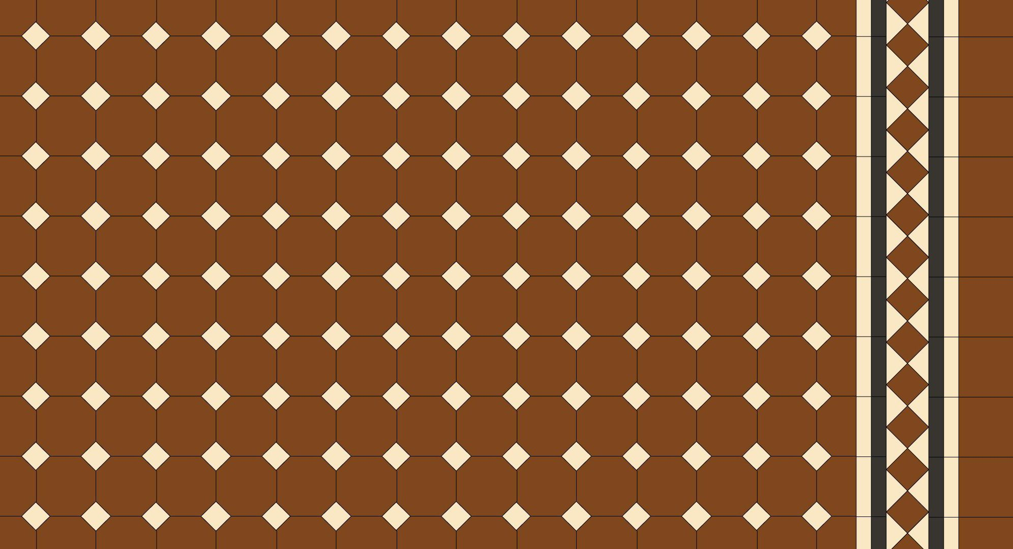 Tessellated Pattern 38 Renditions Tiles