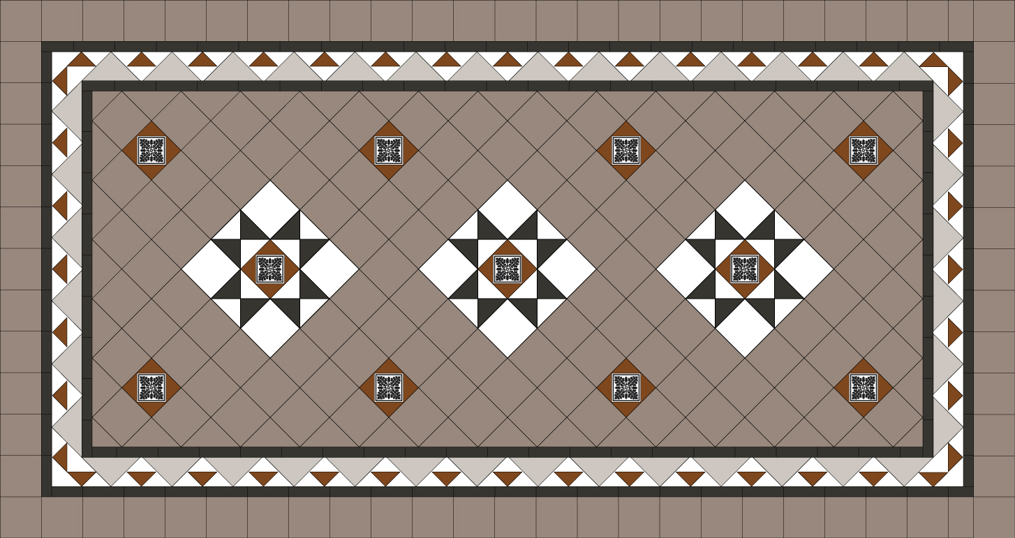Tessellated patterns renditions tiles tessellated pattern 8 dailygadgetfo Images