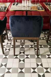 PARISIAN RESTAURANT - FOODIES - ADELAIDE PATTERN - TESSELLATED TILES