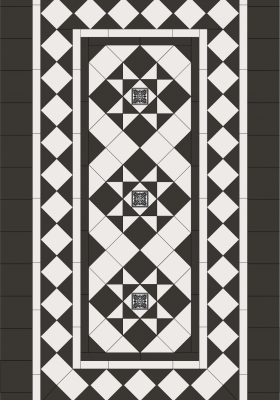 BALLARAT PATTERN + NORWOOD BORDER + INFILL