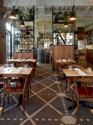 SUDIMA HOTELS NEW ZEALAND - 55mm VITRIFIED PORCELAIN HEXAGON - NEW YORK PATTERN - RENDITIONS TILES