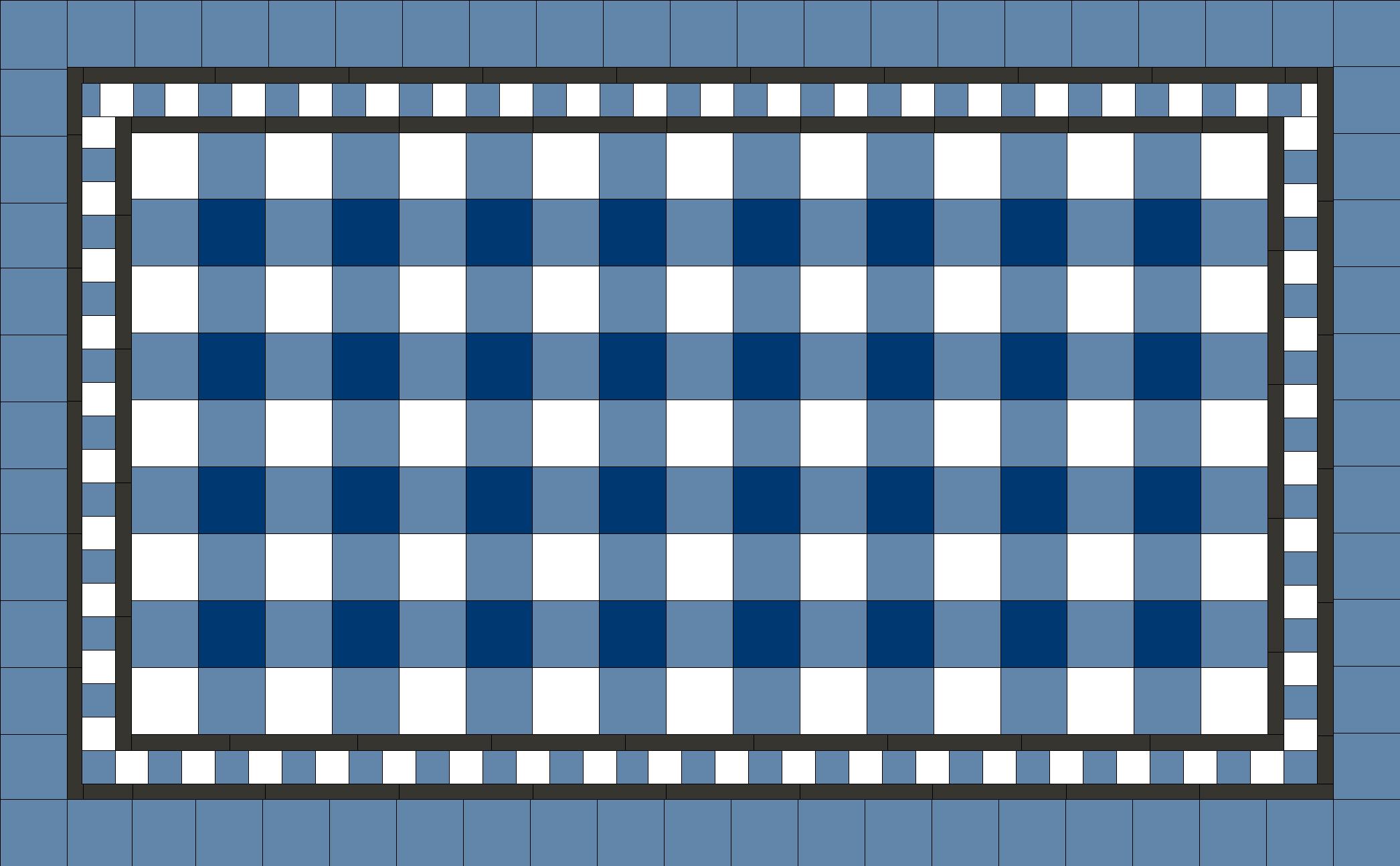 Multi Checker on Square